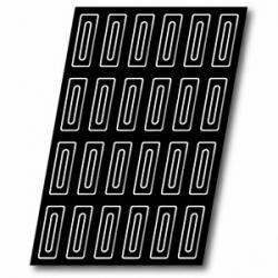 Форма конд.60*40см(24шт. на листе)силик