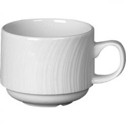 Чашка коф «Спайро» 85мл фарфор