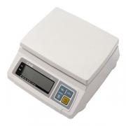 Весы электр. SW-2 2кг с адаптер., пластик,металл, H=13.2,L=29.5,B=25.6см, белый