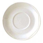 Блюдце «Айвори Монте Карло»; фарфор; D=16.5см; слон.кость