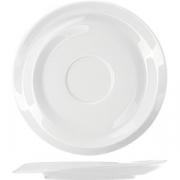 Блюдце «Нами» D=18см; белый