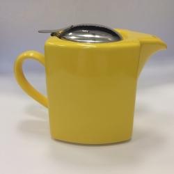 Чайник с ситечком 600мл цвет: Желтый