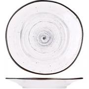 Блюдце для бульон. чашки «Пастораль» D=15.5, H=2см; серый