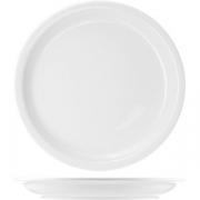 Тарелка мелкая «Америка» D=23, H=2.5см; белый