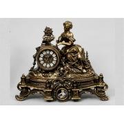 Часы «Дама» каштан 33х40 см.