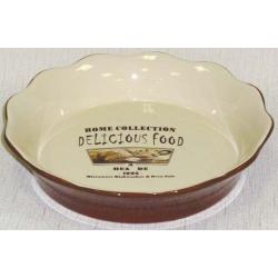 Круглое блюдо для выпечки «Деликатесы» 26 см