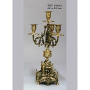 Канделябры MACHADO 4 Cвечи золотой 44х22см