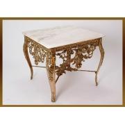 Стол «Наполеон» квадратный золотистый 52х56х56 см.