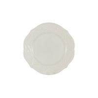 Тарелка закусочная Villa (белая) без инд.упаковки