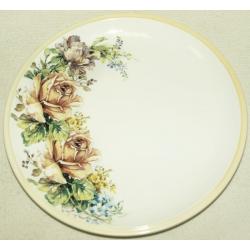 Тарелка «Чайные розы» 23 см