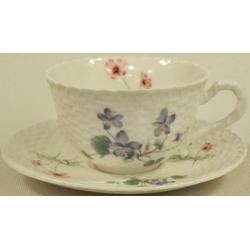 Чашка с блюдцем «Лесной букет»