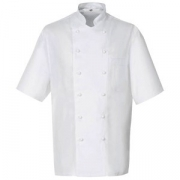 Куртка поварская,р.54 б/пуклей, полиэстер,хлопок, белый