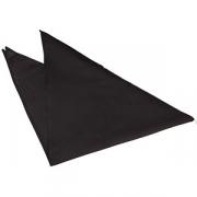 Галстук-косынка полиэстер; черный