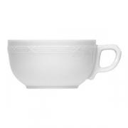 Чашка чайная «Штутгарт», фарфор, 250мл, белый