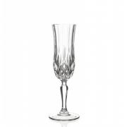 Набор 6 бокалов для шампанского 130мл с золотом «Опера»