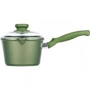Сотейник с крышкой(индукция) «Д. Грин» D=16см; зелен.