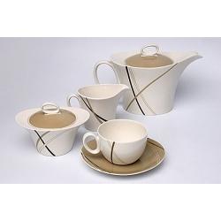 Сервиз чайный 17 предметов на 6 персон «Мокко»