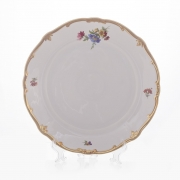Набор тарелок 24 см. 6 шт. «Мейсенский букет»