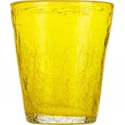 Стакан «Колорс» стекло; 310мл; желт.