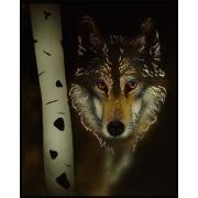 Волк,40х50 см,2234 кристаллов