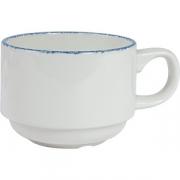 Чашка кофейная «Блю дэппл»