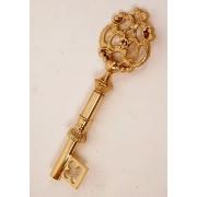 Штопор - «ключ» цвет - золото 23х7см