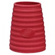 Чехол термостойкий для сифона [3шт]; резина; красный