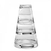 Набор салатников 370/220/120мл 3шт. +крышка(100мл), стекло, прозр.