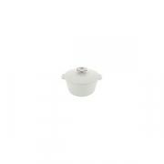 Кастрюля для сервировки с крышкой «Революшн» H=12.5см; белый