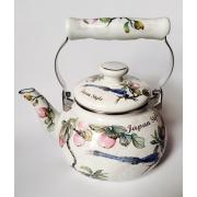 Японский эмалированный чайник на 2 литра,серия «Японский стиль»