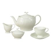 Чайный сервиз из 15 предметов на 6 персон Белый город