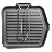 Сковорода-гриль квадрат.24*24см