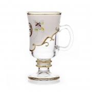 Набор стаканов для чая 6шт «Лепка белая»
