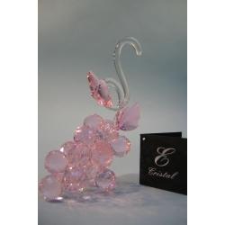 Гроздь винограда маленькая розовая d 20 11х14 см