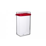 Контейнер для хранения продуктов «Стора» (Stora) Rosti Mepal 2 л. 15,1 x 6,9 x 23см (2л.) (красный)