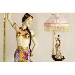 Лампа «Танцовщица» с абажуром 85 см