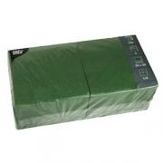Салфетки 33*33см темно-зел.250шт