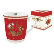 Кружка (красная) Рождественская коллекция