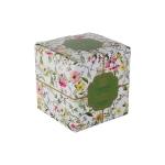 Кружка с ситечком и крышкой Цветение в подарочной упаковке