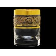 Стакан для виски Золотая коллекция, богатое золото (набор 6 шт.)