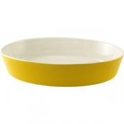 Блюдо для запек. овал. желтое 30*19см фарфо