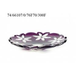 Блюдо фиолетовое 300