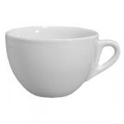 Чашка чайная «Верона», фарфор, 450мл, белый
