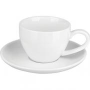 Пара кофейная «Кунстверк» фарфор; 90мл; белый