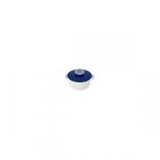 Кастрюля для сервировки с крышкой «Революшн» D=105, H=77мм; белый, синий