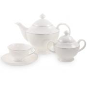 Сервиз чайный 6 перс 14 пр Жемчужина