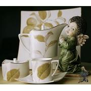 Набор чайных пар на 6 персон, 250мл «Райский сад»