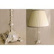 Настольная лампа (большая) 62 см «Палаццо серебро»