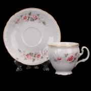 Набор для чая 140 мл. на 6 перс. 12 пред выс. н/н «Роза серая 5396011»