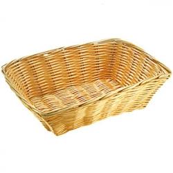 Корзина для хлеба 23*15см полиротанг